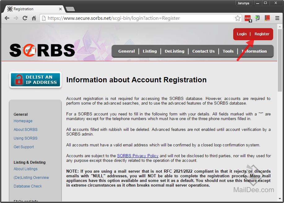 SORBS SPAM หรือ SORBS WEB คืออะไร – WhyBlacklist com
